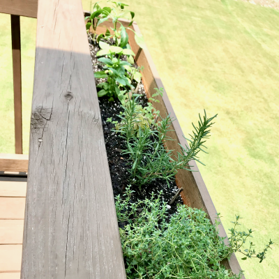 DIY Herb Garden Planter Box