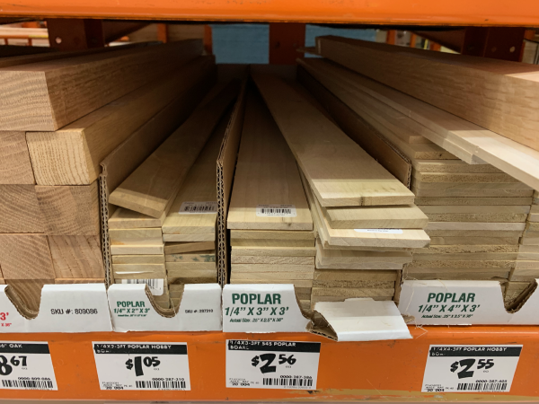 Poplar Wood for Drawer Organizer