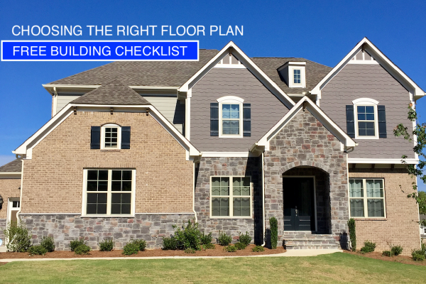 Free Home Building Checklist - Choosing a Floor Plan Checklist