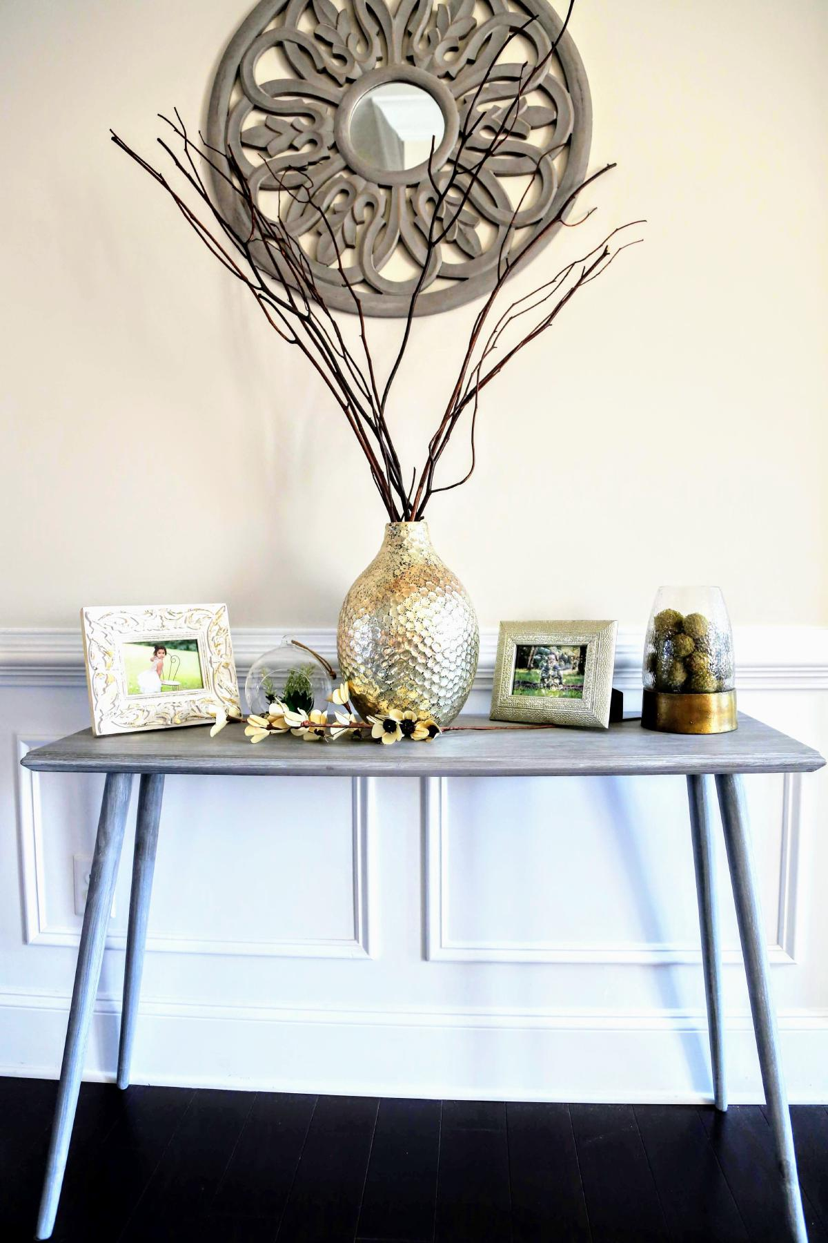Farmhouse Entry Way Console Table