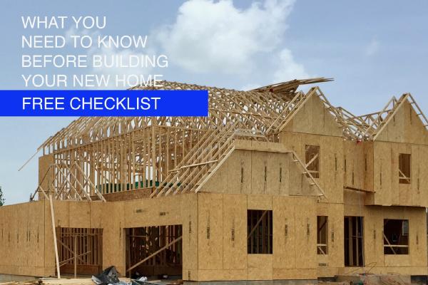Free Home Building Checklist