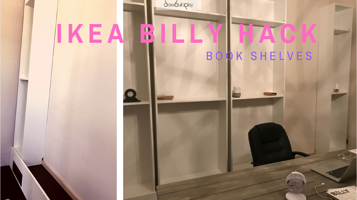 Ikea Billy Bookshelf Hack
