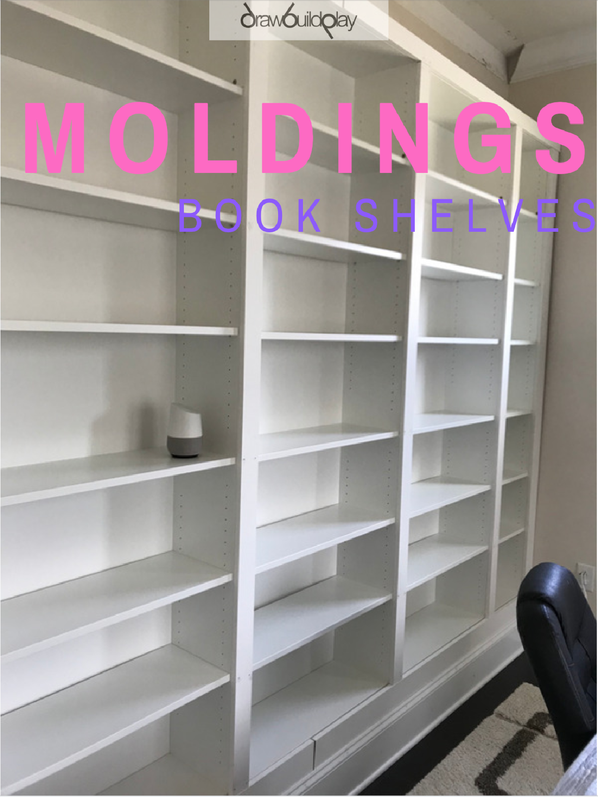 Book Shelf Molding / Trim