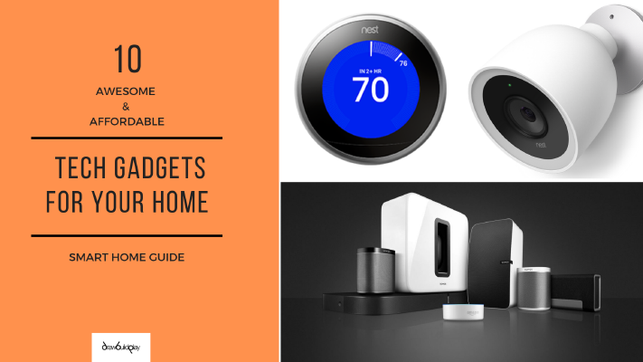 10 Awesome and Affordable Tech Gadgets for your home